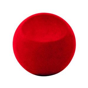 28 alcantara rood carwrap folie